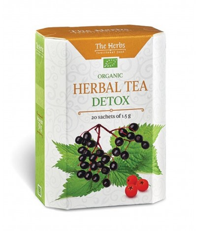 Té Herbal Tea Biológico Detox 20un