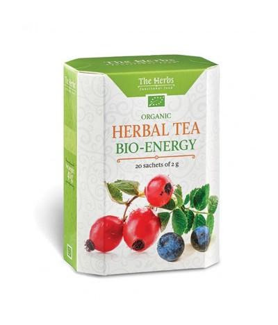 Chá Herbal Tea Biológico Bio-Energy 20un