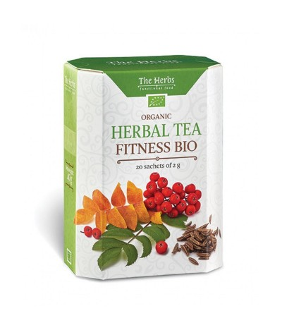 Té Herbal Tea Biológico Fitness 20un