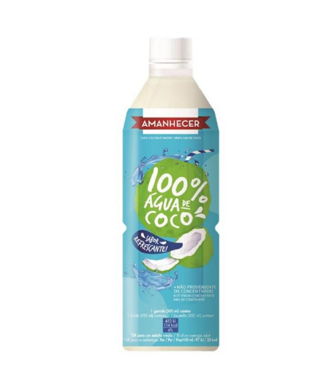Amanhecer 100% Agua Coco 500ml T