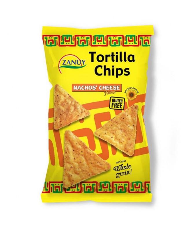 Zanuy Tortilla Chips Queijo 200gr