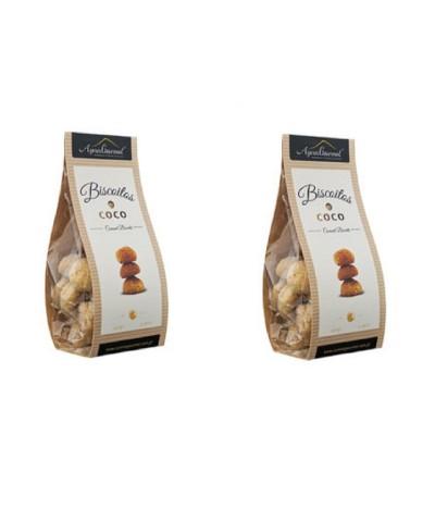 PACK 2 Galletas de Coco Azores Gourmet 150gr