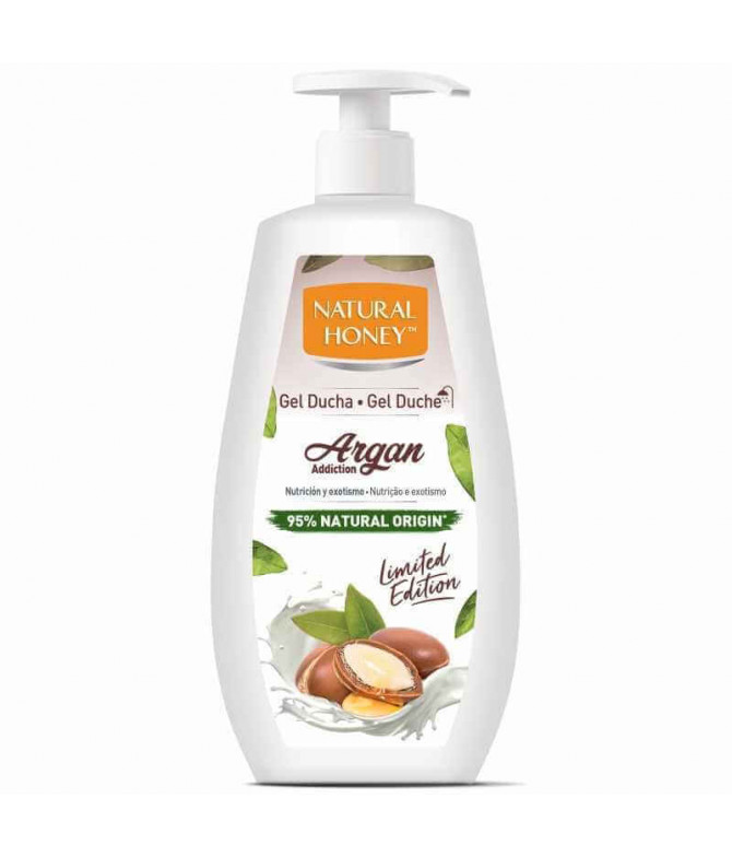Natural Honey Gel Banho Argan 700ml