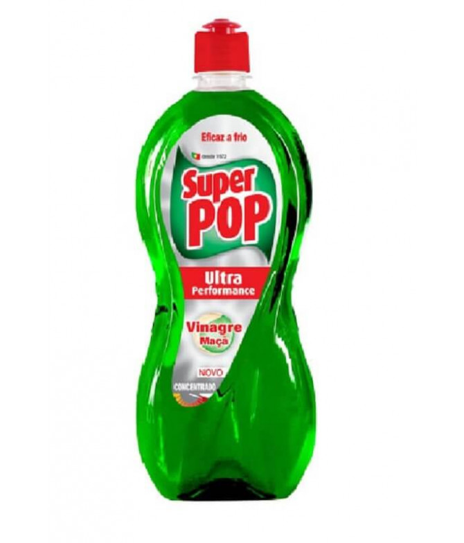 Super Pop Detergente Loiça Vinagre Maçã 700ml