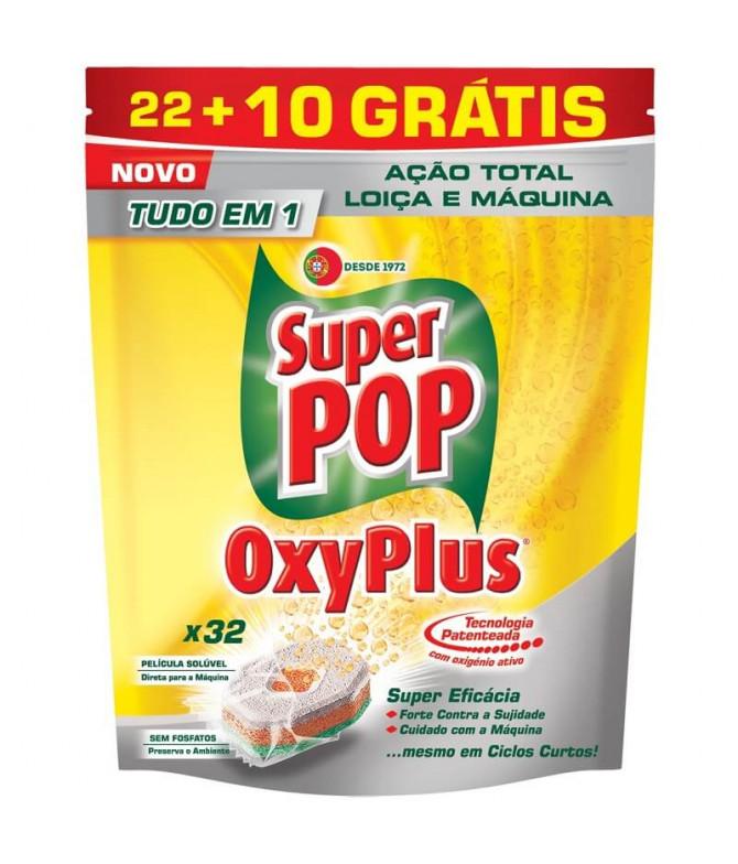 Super Pop Pastilla Oxyplus 32un T