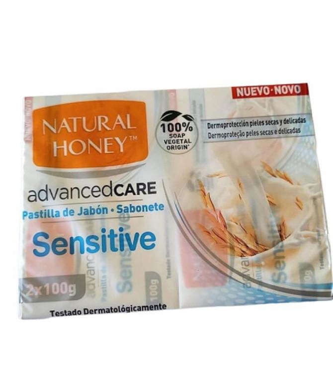 Natural Honey Jabón Sensitive 2x100gr T