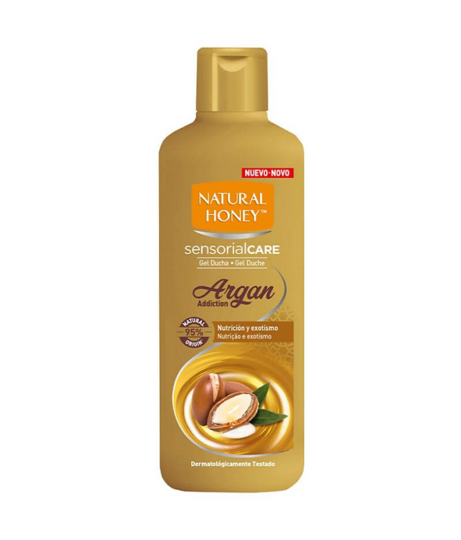 Natural Honey Gel Banho Argan 650ml