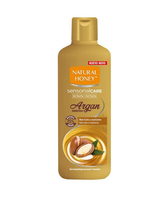 Natural Honey Gel Baño Argan 650ml T