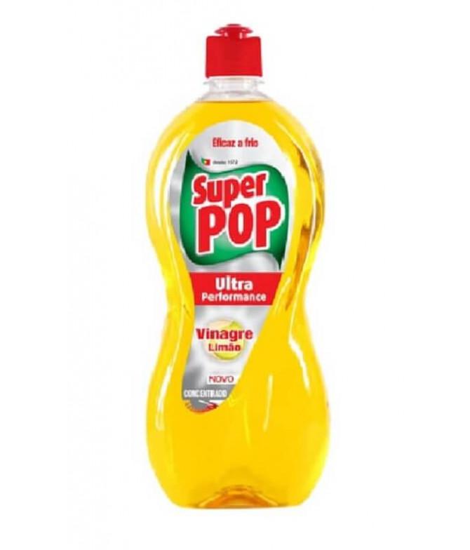 Super Pop Lavavajillas Vinagre Limón 700ml T