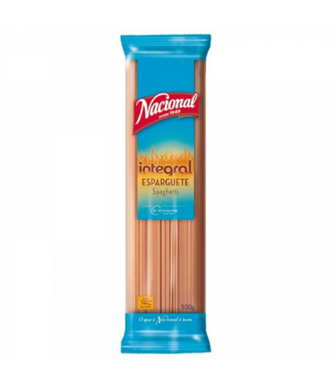 Nacional Espaguetis Integrales 500gr T