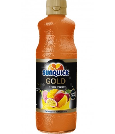 Sunquick Sumo Concentrado de Frutas Tropicais Gold 700ml