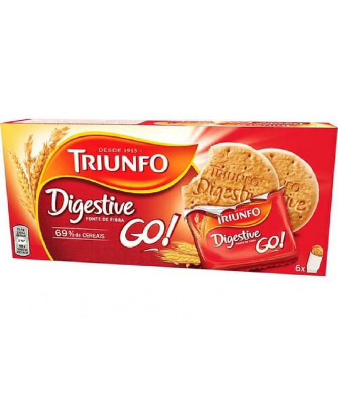 Triunfo Galleta Digestive Go 160gr T