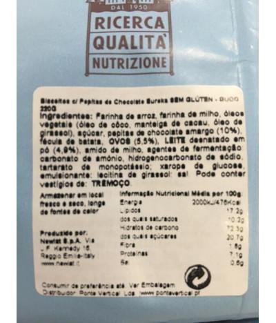 PACK 2 Güdo Biscoito Eureka Pepitas Chocolate 220gr