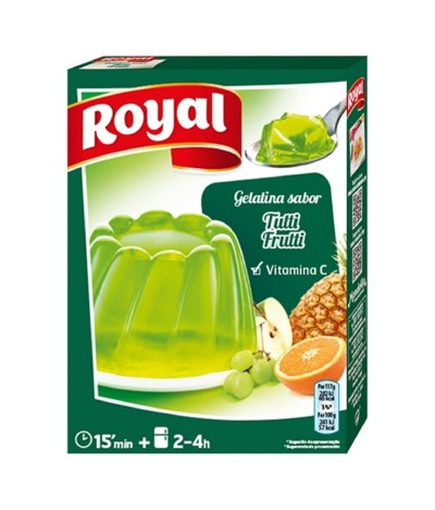 Royal Gelatina Tutti-Frutti em Pó 170gr
