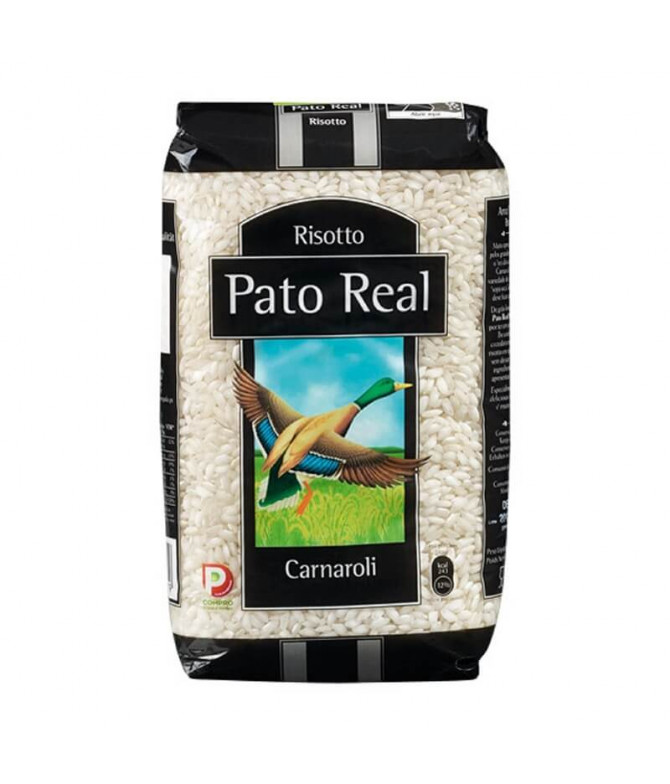 Pato Real Arroz Carnaroli Risotto 1kg T