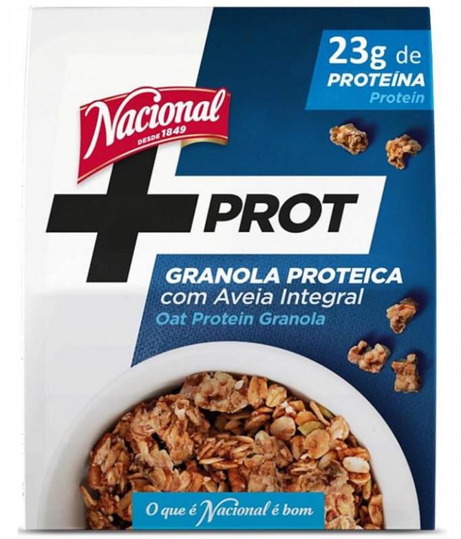 Nacional Granola Proteica Aveia 300gr