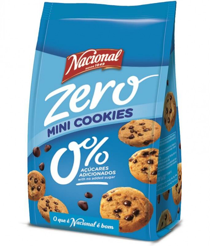 Nacional Mini Cookie Zero 120gr