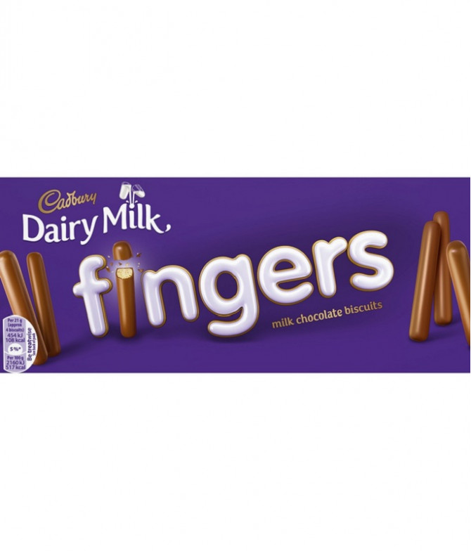 Cadbury Fingers Galleta 114gr T