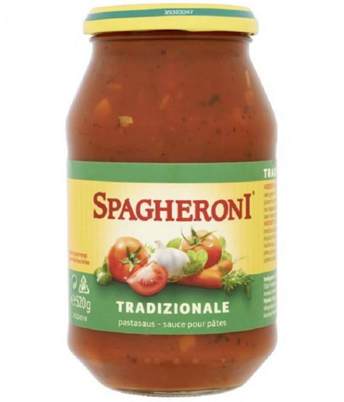 Spagheroni Molho Tomate Tradicional 520gr