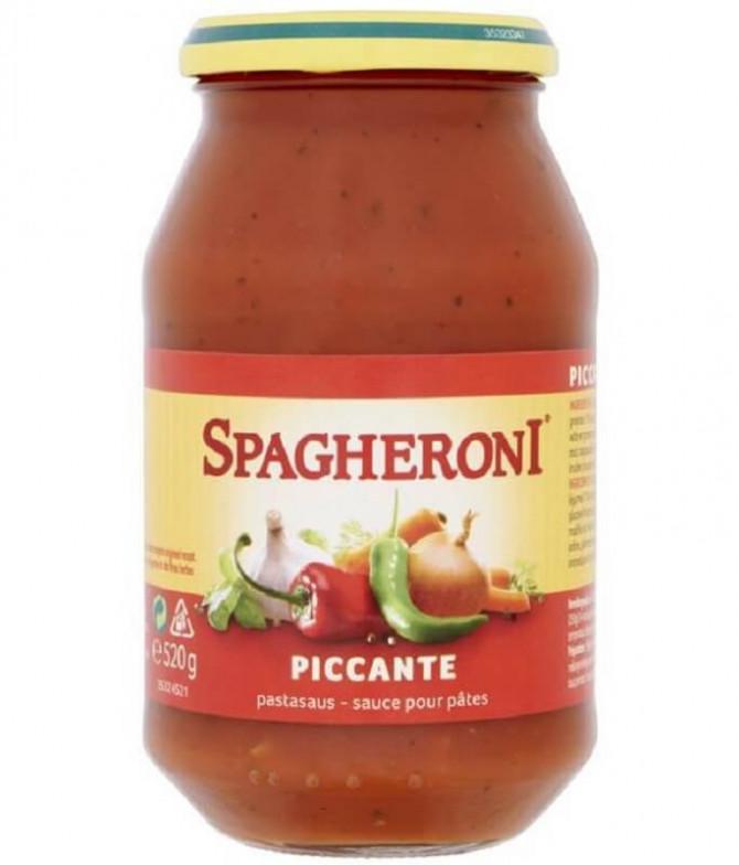 Spagheroni Molho Tomate Picante 520gr