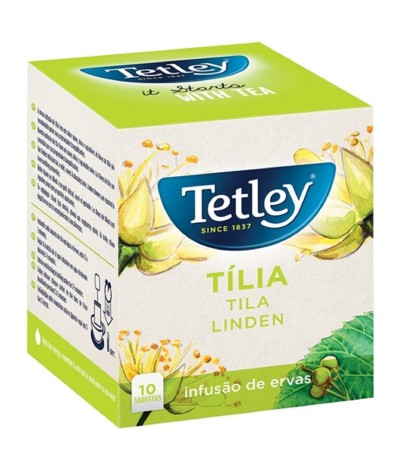 Tetley Infusão de Tíla 10 saquetas