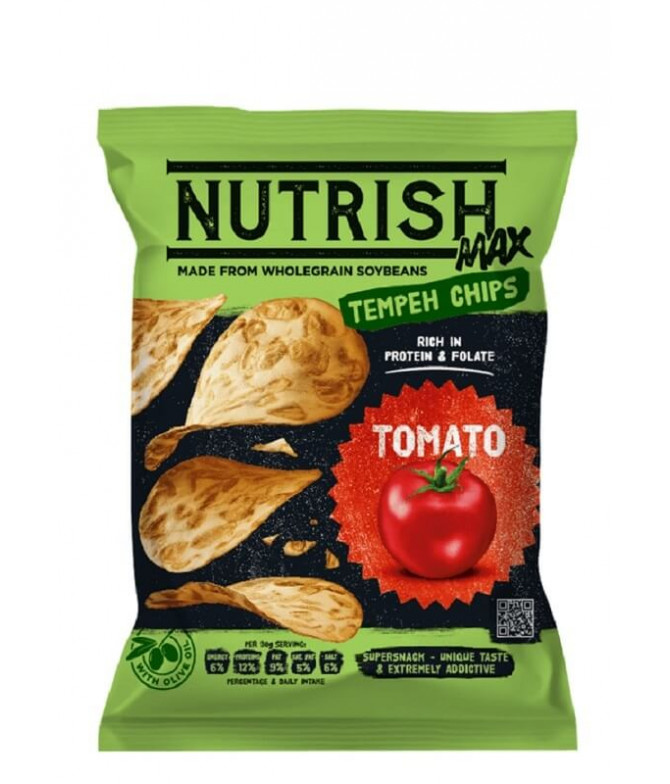 Nutrish Max Chips Tempeh Tomate 60gr T