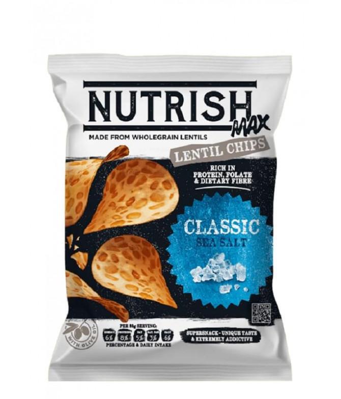 Nutrish Max Chips Lenteja Sal Marina 60gr T