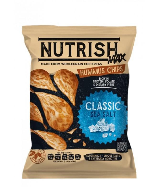 Nutrish Max Chips Hummus Sal Marina 60gr T