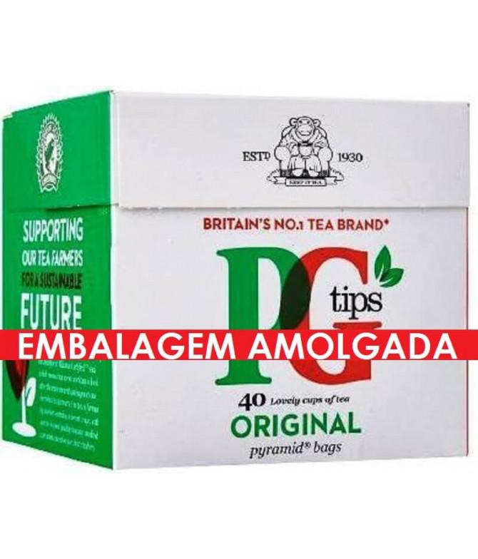 PG Tips Chá Preto 40un