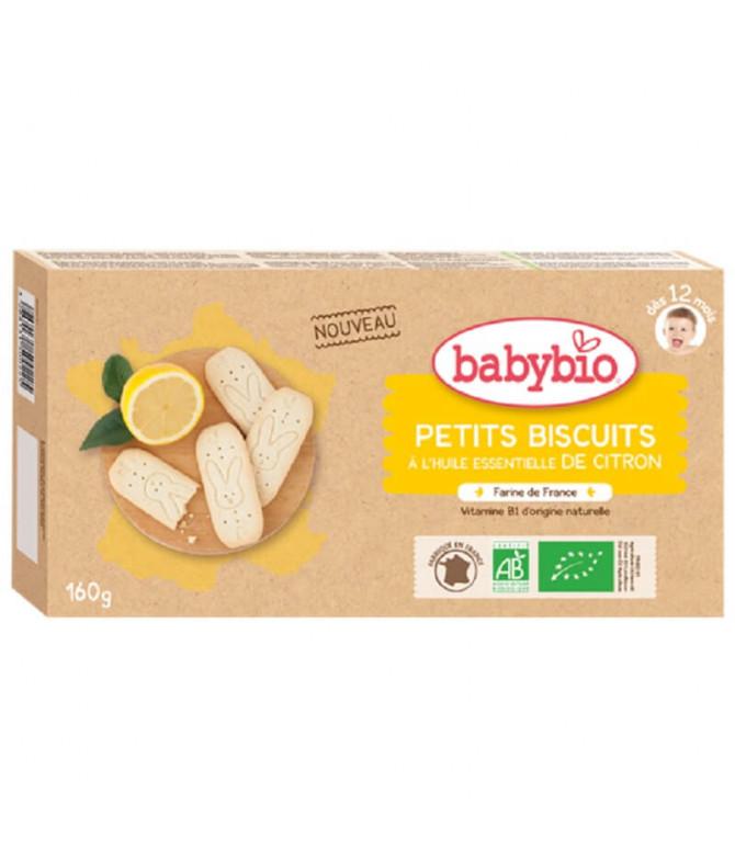 Babybio Biscoito Limão 160gr