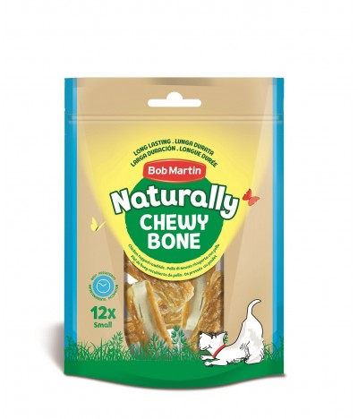 Bob Martin Naturally Huesos Prensados Pequeños Recubiertos de Pollo