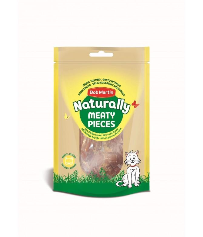Naturally Pedacinhos de Frango para Gato 50gr