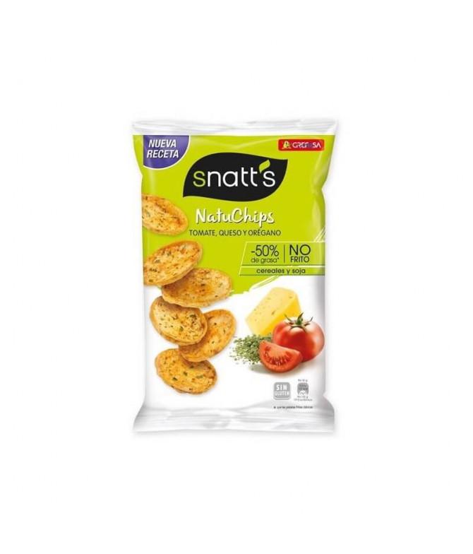 Snatt's Naturchips Tomate Queso Orégano 26gr T