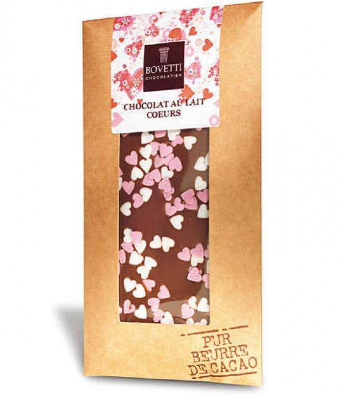 Bovetti Chocolate Preto Corações Açúcar 100gr
