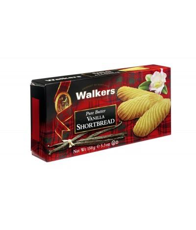 Walkers Galletas de Mantequilla y Vainilla 150gr