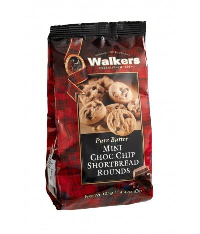 Walkers Mini Galletas con Chips de Chocolate 125gr