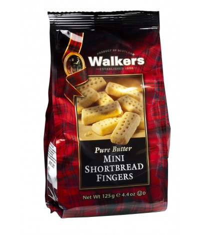 Walkers Galletas de Mantequilla Mini Shortbread Fingers 125gr