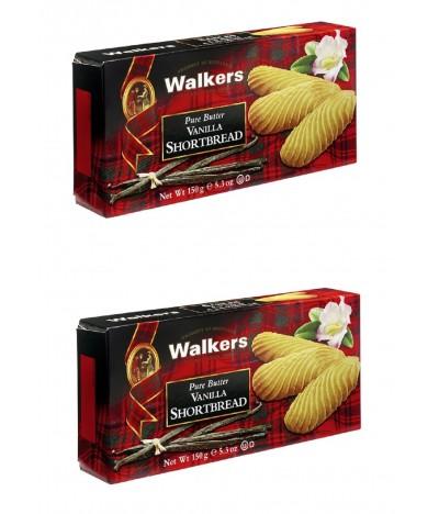 PACK Walkers Bolachas de Manteiga e Baunilha 150gr