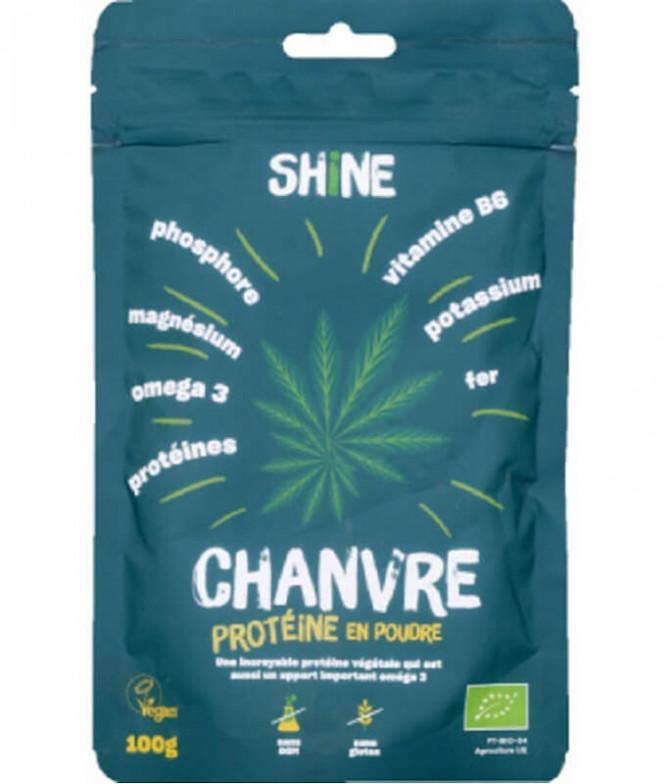 Shine Proteína Cânhamo Pó BIO 100gr