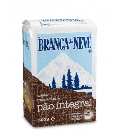 Branca de Neve Farina para Pão Integral 500gr
