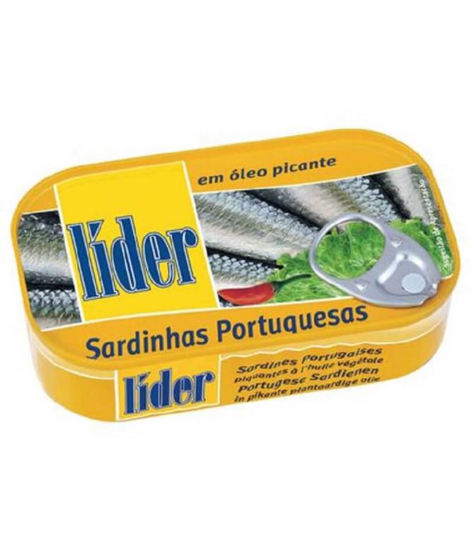 Líder Sardinha Óleo Picante 120gr