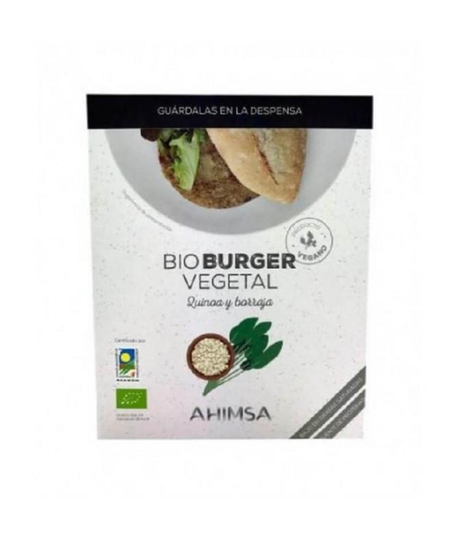Ahimsa BioBurguer Quinoa Borragem 2un