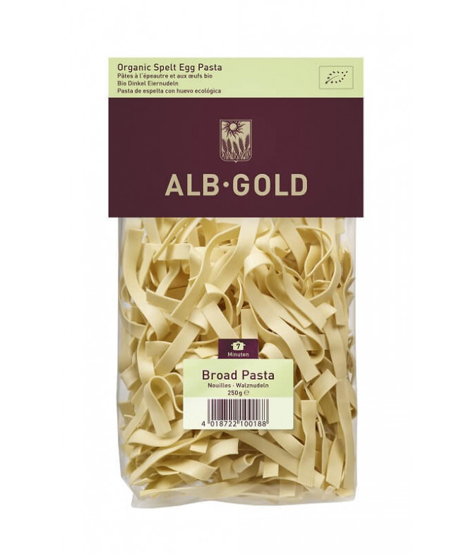 Alb Gold Massa Tagliatelle Espelta BIO 250gr