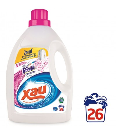 Xau+Vanish Whites Detergente Líquido 26 lavados