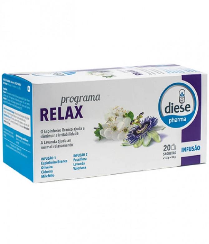 Diese Pharma Infusión Programa Relax 20un T