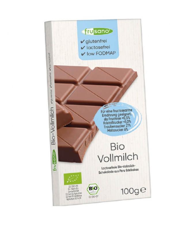 Frusano Chocolate Leite BIO 100gr