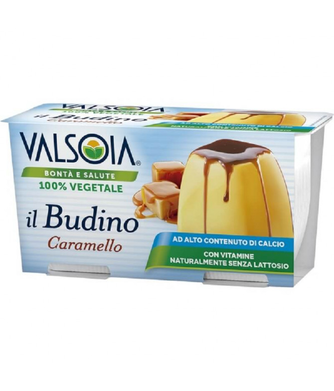 Valsoia Flan Caramelo 2x115gr T