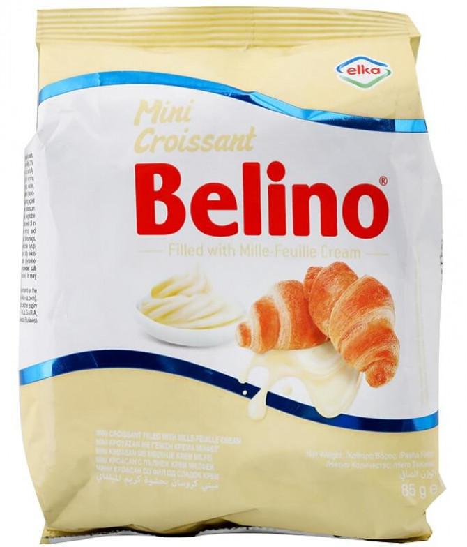 Belino Mini Croissant Recheio Creme 85gr