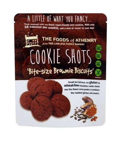 Brownies de Chocolate SIN GLUTEN The Foods of Athenry 120gr