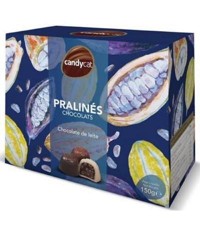Bombons Praliné Sortidos de Chocolate de Leite 150gr Candycat